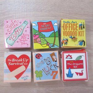 6 little novelty kits voodoo doll lucky charms
